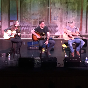 Delphi Opera House Nashville Songwriters Round III